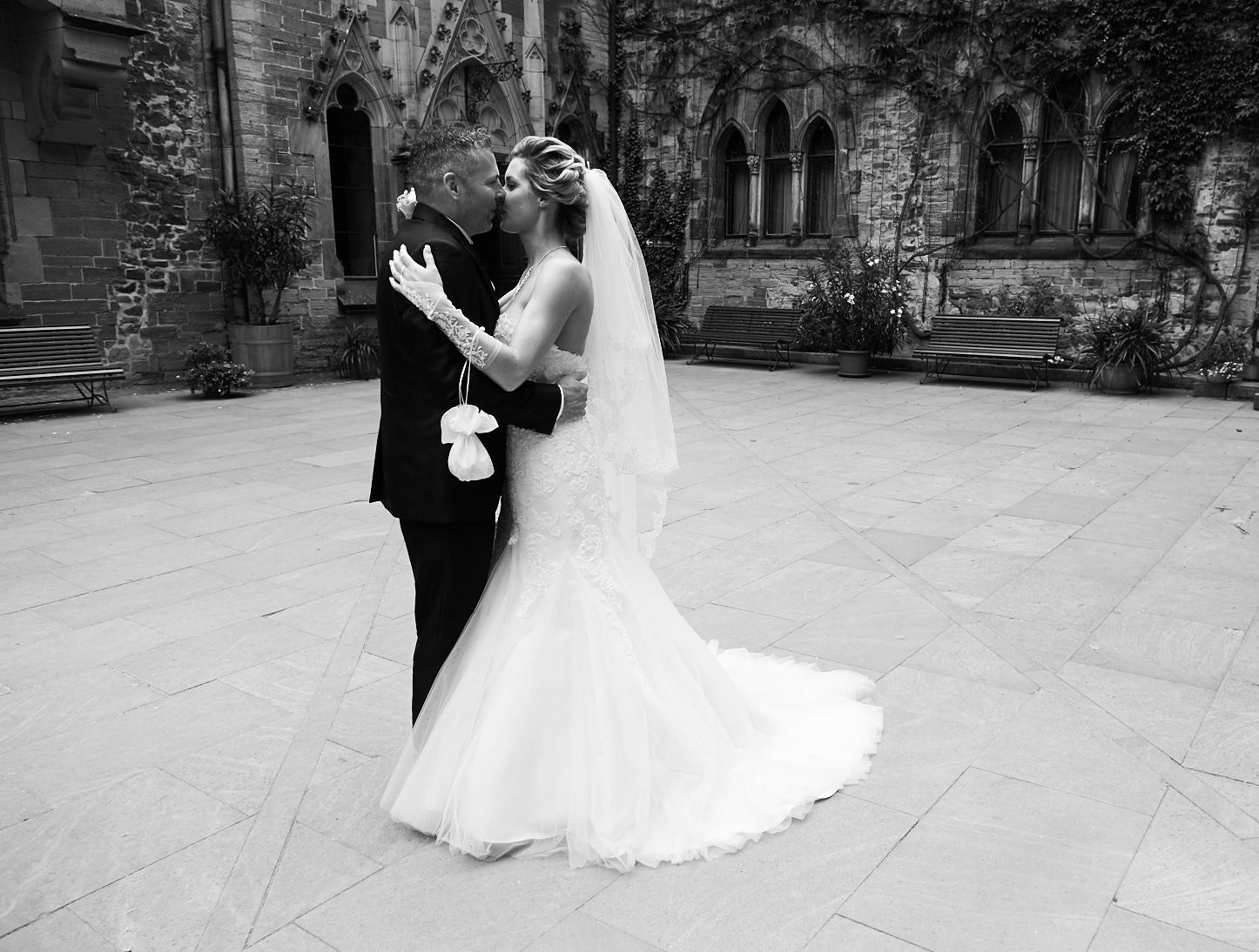Hochzeitshooting auf dem Wernigeröder Schloss