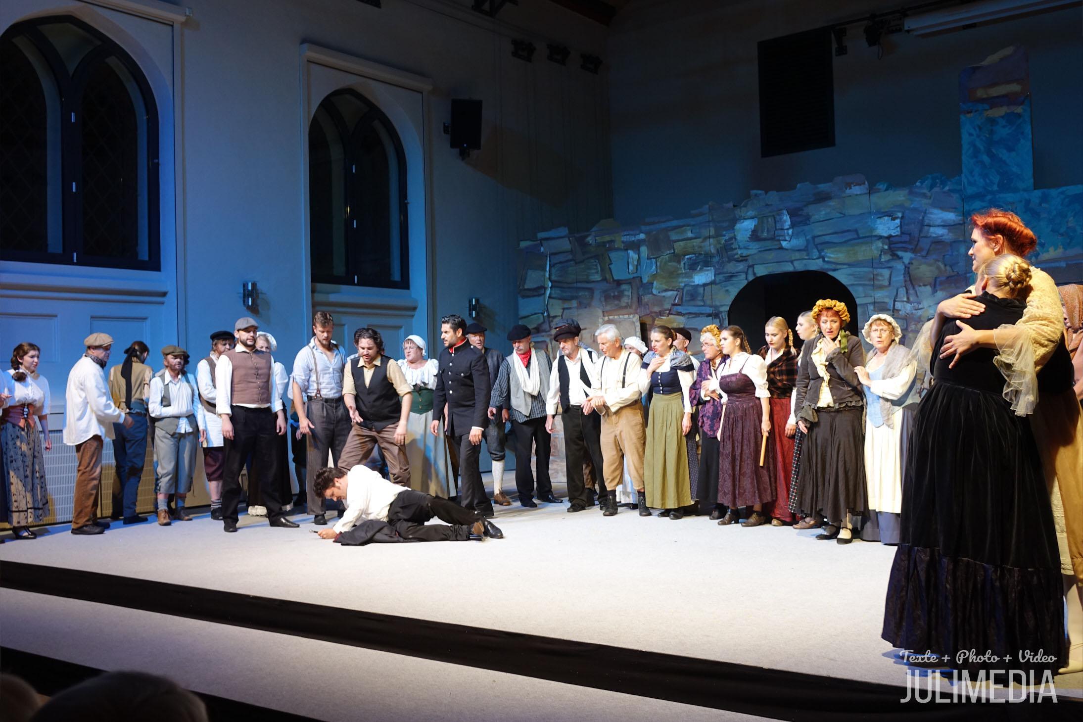 """Die Oper """"Faust"""" hat am 11. August im Marstall  in Wernigerode Premiere gefeiert."""