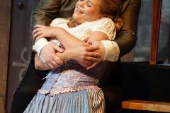 """Margarethe und der verjüngte Faust: Die Oper """"Faust"""" hat am 11. August im Marstall in Wernigerode Premiere gefeiert."""