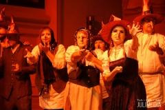 """Die Walpüurgisszene ist einer der Höhepunkte. Die Oper """"Faust"""" hat am 11. August im Marstall  in Wernigerode Premiere gefeiert."""
