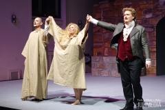 """Applaus: Die Oper """"Faust"""" hat am 11. August im Marstall  in Wernigerode Premiere gefeiert."""