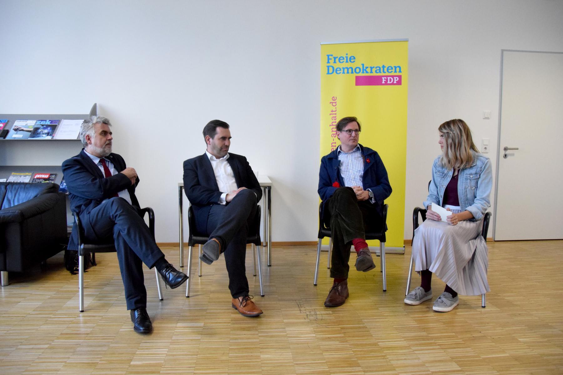 Podiumsdebatte zu Digitalisierung am 5.3.2019