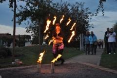 Feuershow im Bürgerpark
