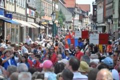 Parade zum Landesfest