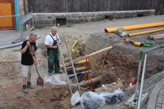 Bauarbeiten in Wernigerode