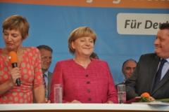 Angela Merkel in Wernigerode