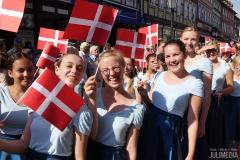 Chorparade durch Wernigerode