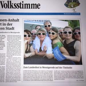 Harzer Volksstimme, Julia Bruns, Wernigerode