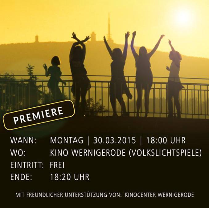 Plakat zur Happy-Wernigerode-Premiere.
