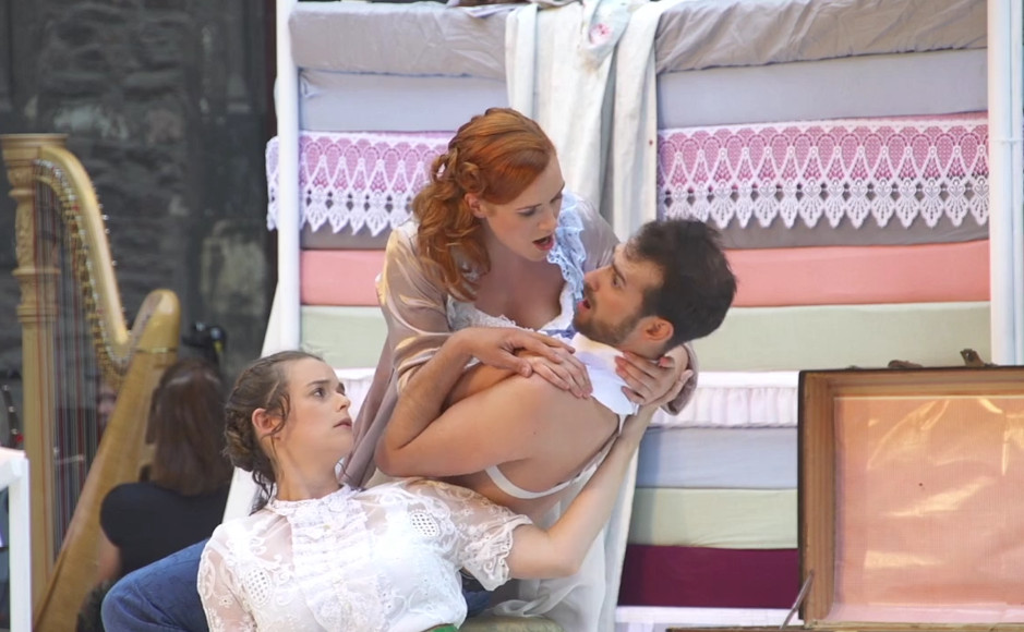 """Die Oper """"Martha"""" bei den Schlossfestspielen in Wernigerode."""