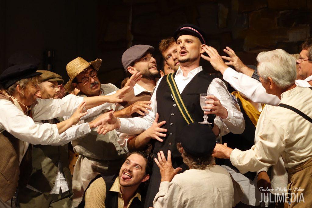 """""""Faust"""" von Charles Gounod hat am 11. August im Wernigeröder Marstall Premiere gefeiert."""