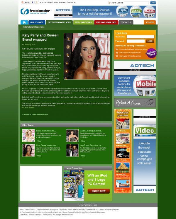06/09 – 11/10: Showbiz-Redakteurin in London